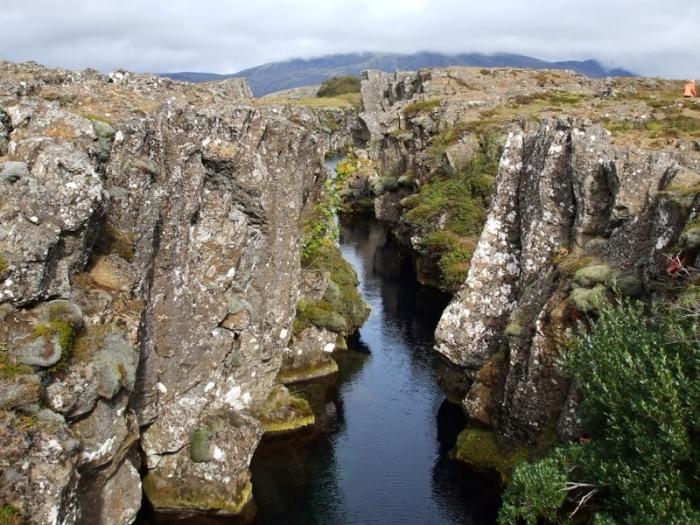 Тектонические плиты в Исландии (11 фото)