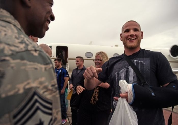 Американские военнослужащие предотвратили терракт (6 фото)