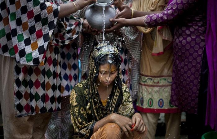 Свадьба в Бангладеш (14 фото)