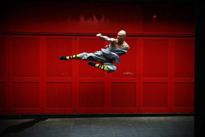 Мастера кунг-фу продемонстрировали свои навыки