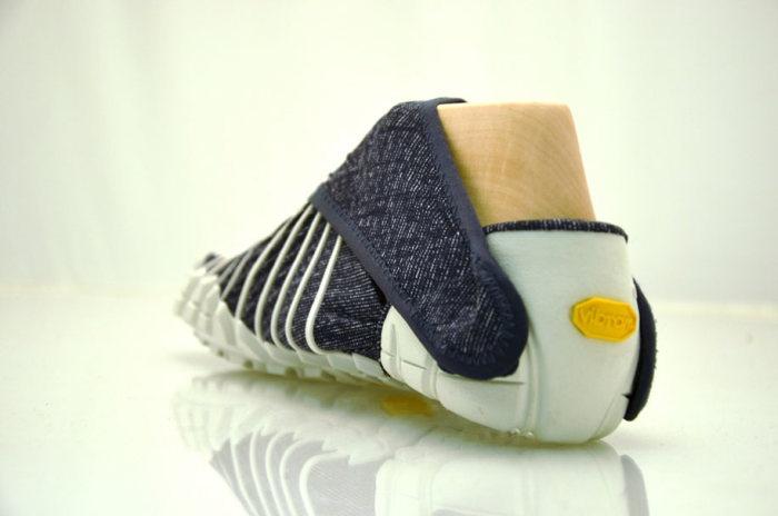 Японские кроссовки по форме ноги (6 фото)