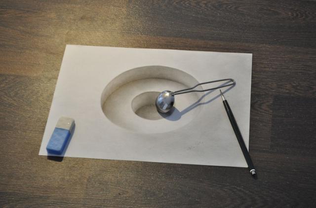 Необыкновенные 3D рисунки (15 фото)
