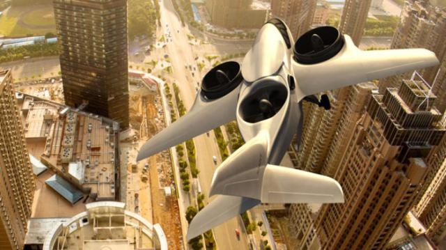 Идея воздушного транспорта для города (6 фото)