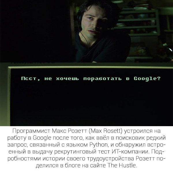 Как парень устроился на работу в Google (5 фото)