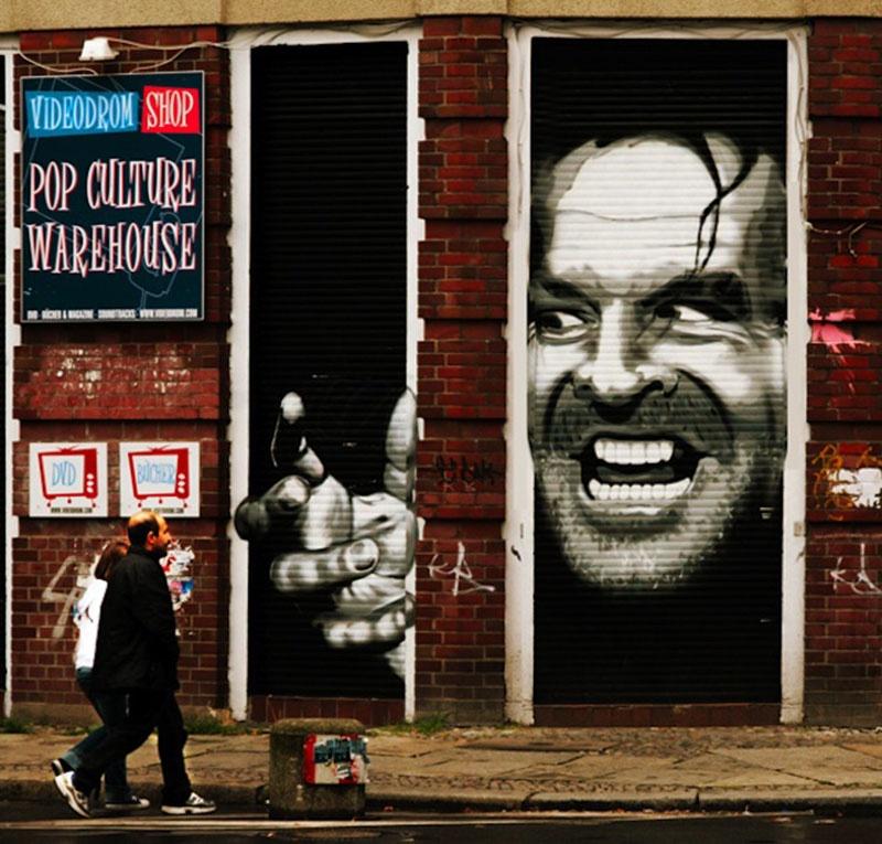 23 необычных граффити