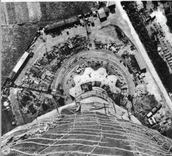 Как строилась Останкинская башня (11 фото)