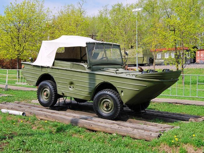 Автомобили-амфибии из СССР (7 фото)