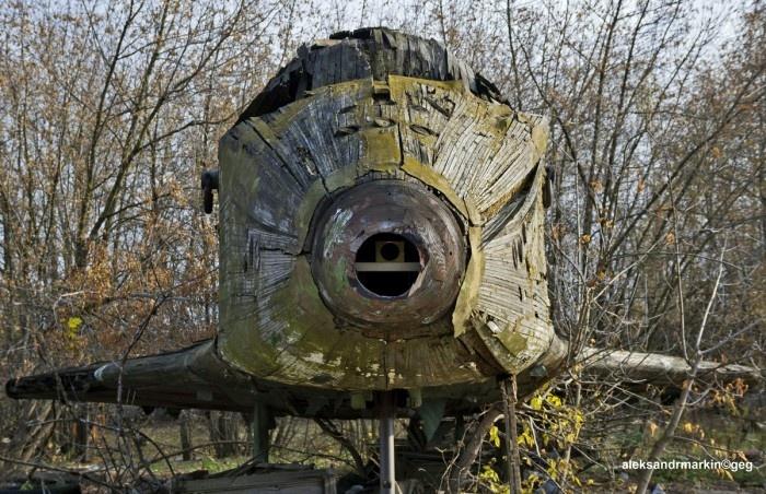 Космический корабль «Буран» в аэропорту Раменское (10 фото)