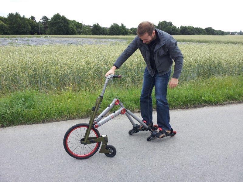 Удивительные технологии для передвижения (10 фото)