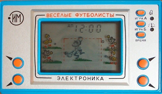 Подборка игр всеми любимой «Электроники»