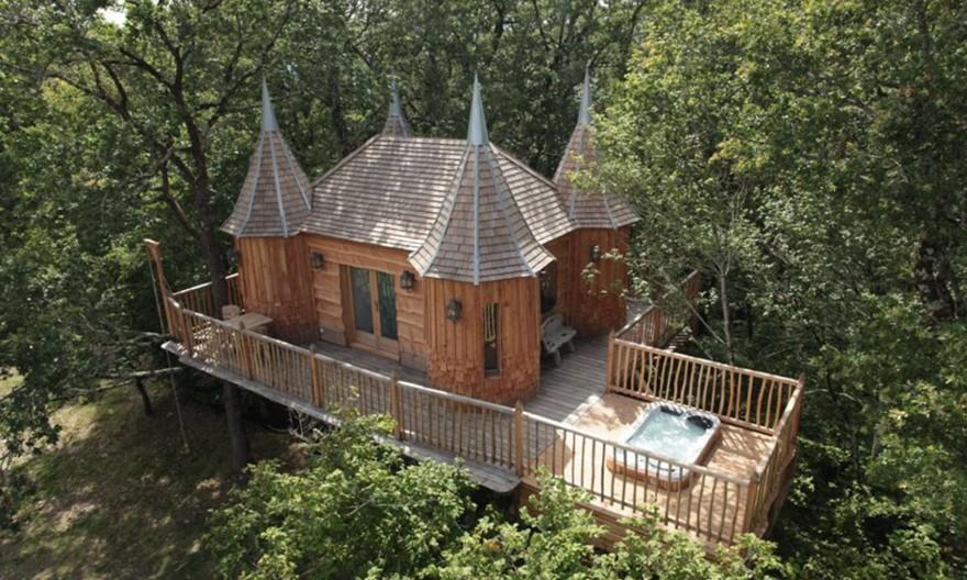 Уютные домики на дереве (11 фото)