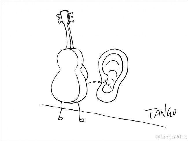 Комиксы от художника Tango (21 картинка)