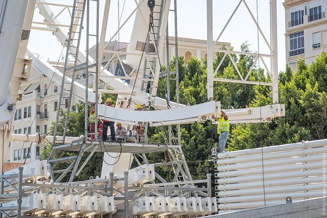 70-метровое колесо обозрения