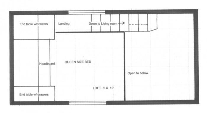 Необычный дом площадью 18 квадратных метров