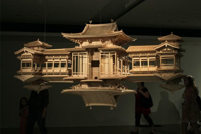 Буддийский храм Такахиро Ивасаки (8 фото)