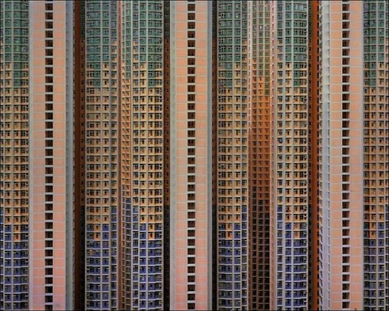 Многоэтажные дома Гонконга