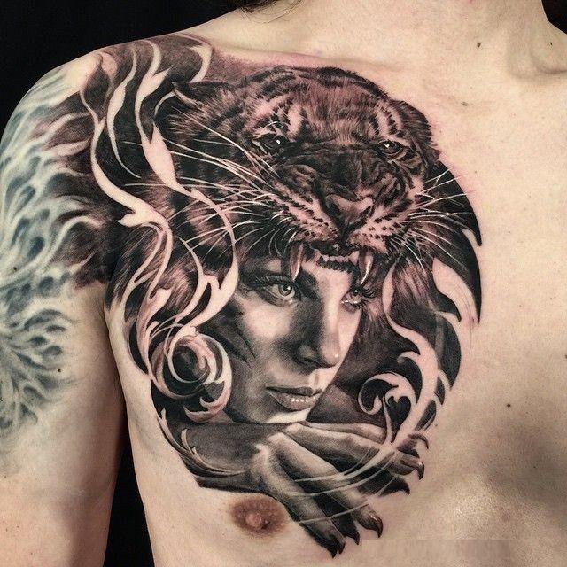 Коллекция реалистичных татуировок (40 фото)