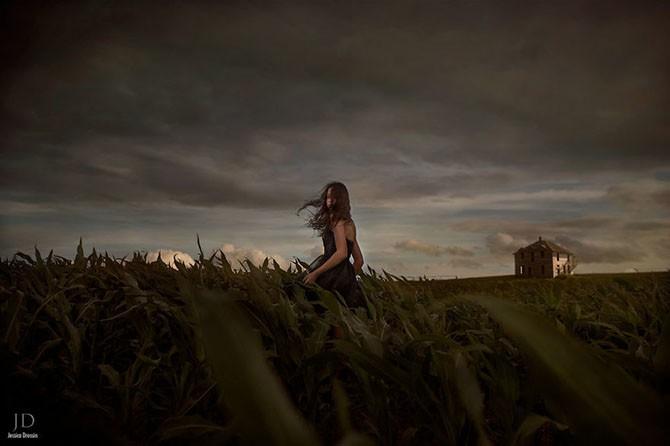 Фэнтези фотографии Джессики Дроссин