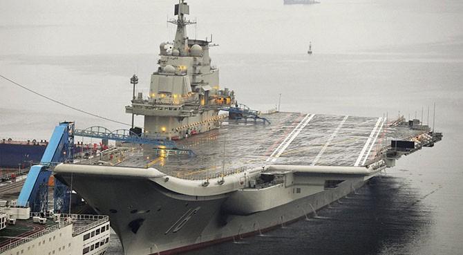 Китайский авианосец Ляонин