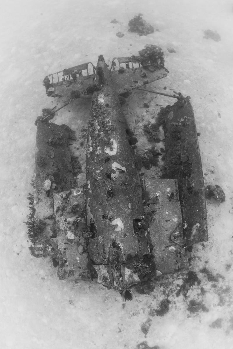 Фотографии затонувших самолетов (33 фото)