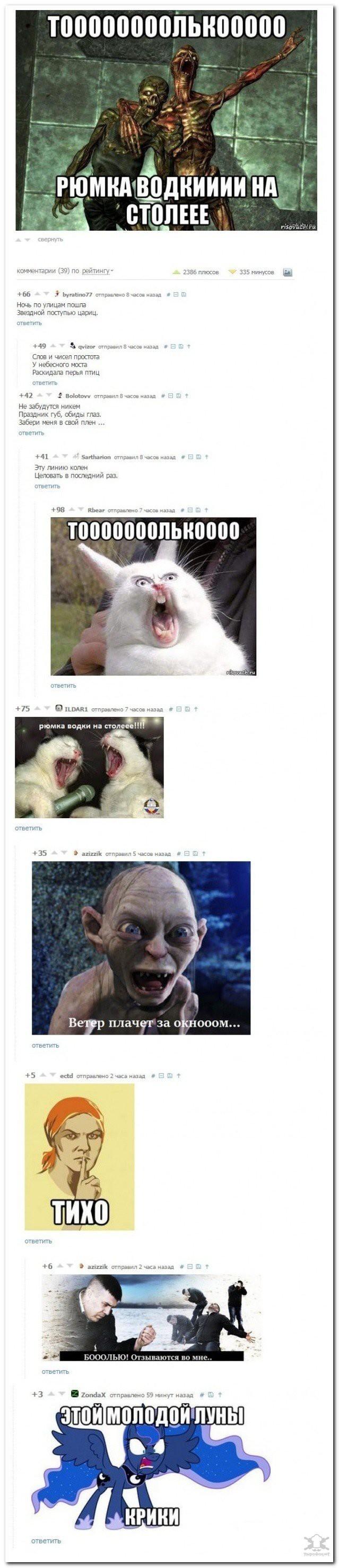 Забавные комментарии из соцсетей (16 фото)