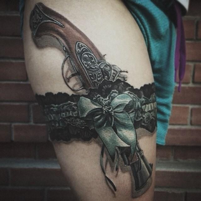 3D татуировки, которые вас напугают
