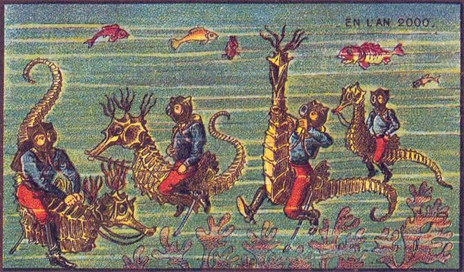 Фантазии наших предков о будущем