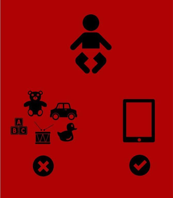 Иллюстрации о нашей зависимости от современных технологий