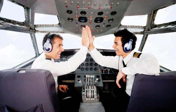 Смешные диалоги между пилотами и диспетчерами