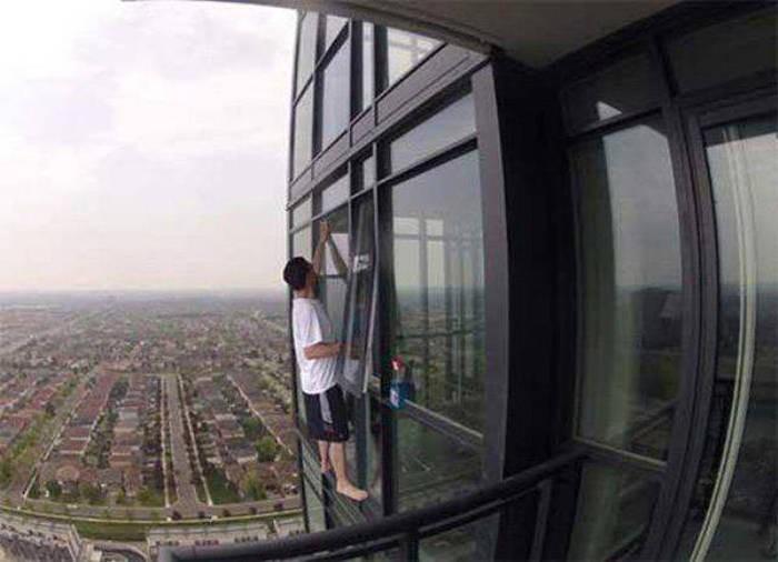 Люди, которые не задумываются о безопасности (30 фото)