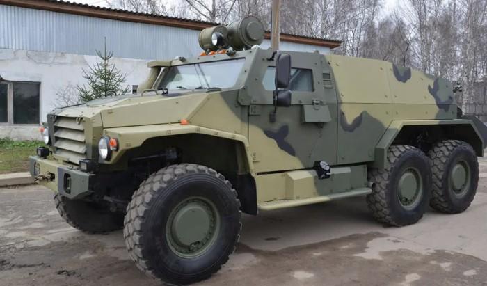 Бронеавтомобили современной российской армии (4 фото)