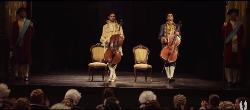 Необыкновенное выступление виоланчелистов