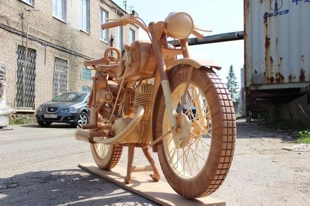 Деревянный ИЖ-49