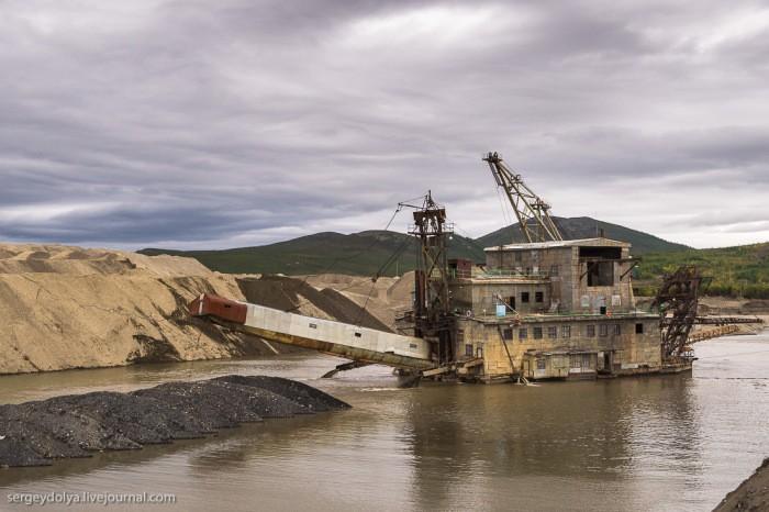 Как добывают золото на Колыме (36 фото)
