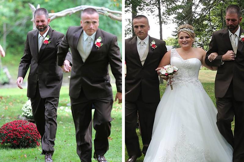 Отец невесты прервал церемонию, чтобы совершить трогательный поступок (6 фото)