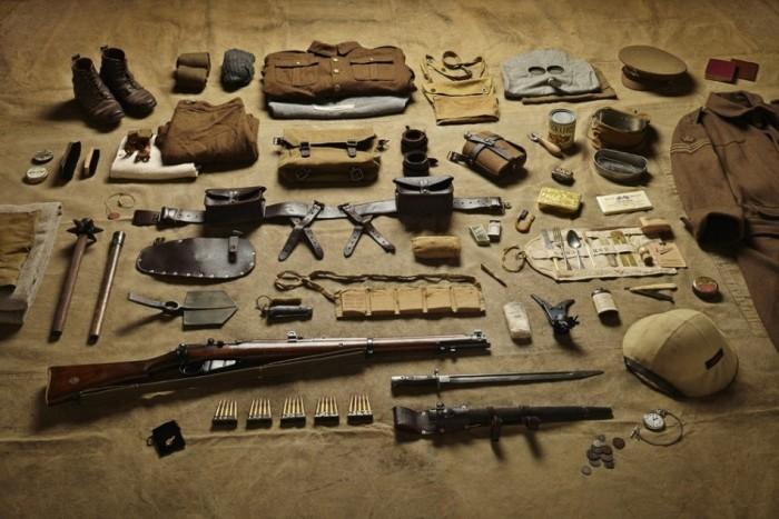 Воссоздание амуниции британских солдат с 1066 года до наших дней (13 фото)
