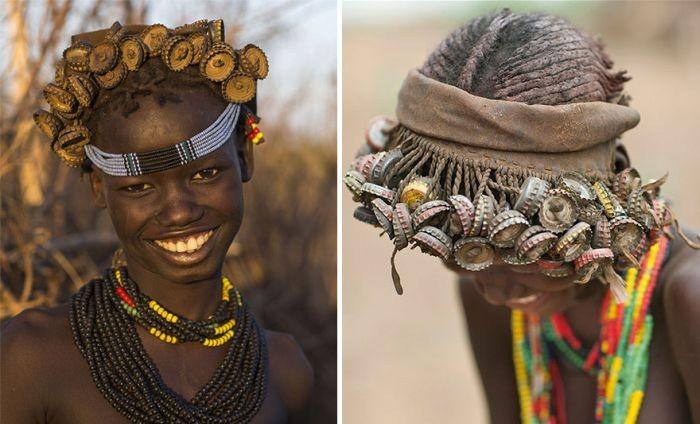 Эфиопские украшения из мусора