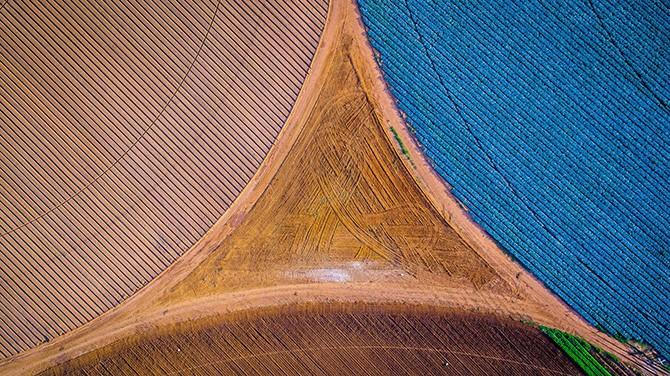 Необыкновенные фотографии сделанные с дронов