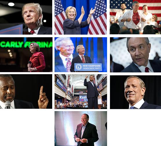 Кандидаты в президенты США
