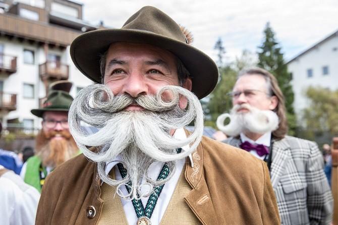 Мода на бороды: чемпионат по бородам и усам