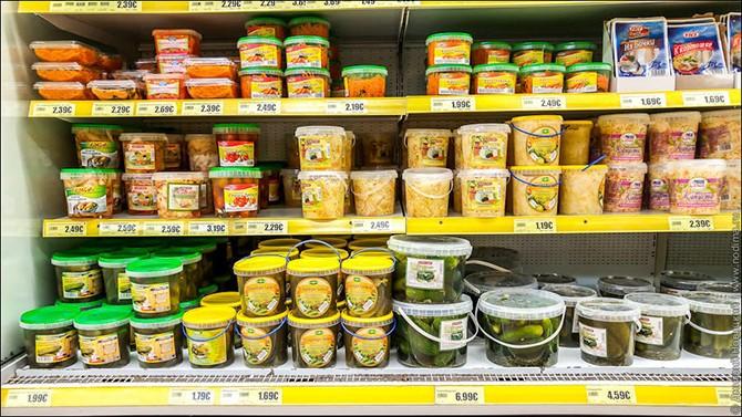 Ассортимент и цены в русском магазине в Германии