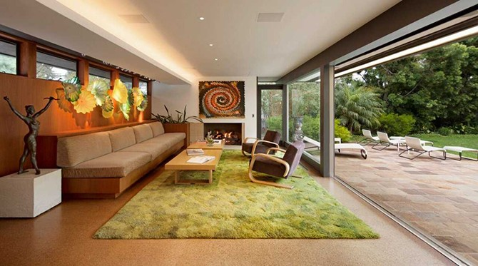 Роскошная резиденция одного из создателей «Симпсонов»