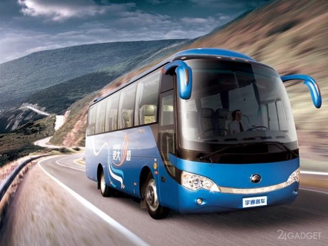 Беспилотные автобусы запустят в Китае (видео)