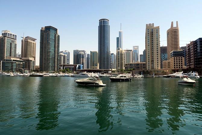 Город в пустыне - Дубай