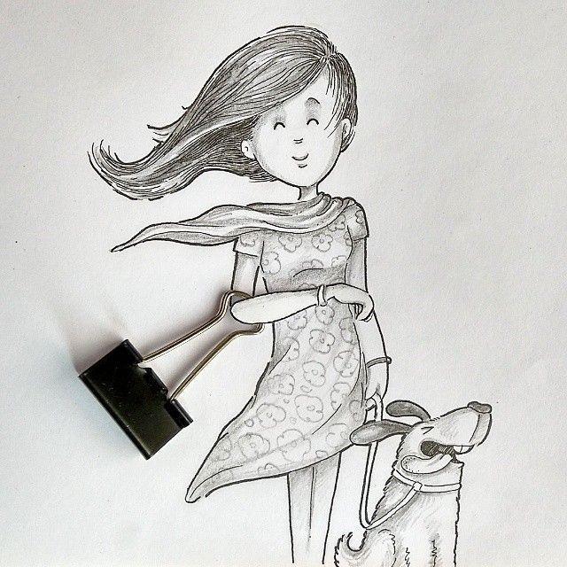 Оптимистичные и забавные рисунки (29 фото)