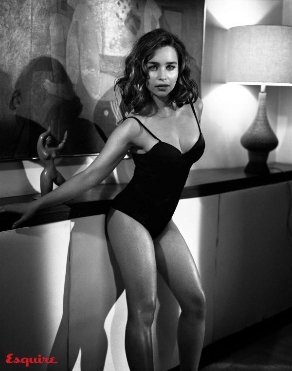 Новая фотосессия для журнала Esquire, звезды сериала «Игра престолов» Эмилии Кларк (12 фото)