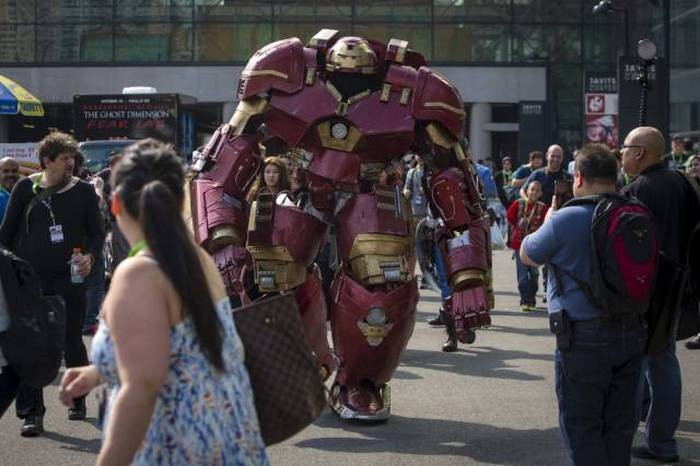 Фестиваль Comic Con 2015 в Нью-Йорке (50 фото)