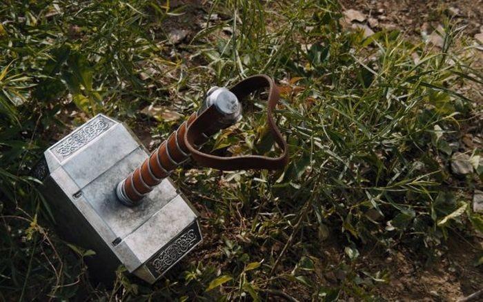 Cоздание рабочей копии молота из фильма «Тор» (3 фото + видео)