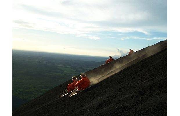 Я, вулкан и сноуборд (18 фото)