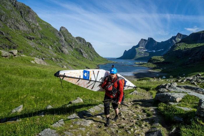 Путешествие по норвежским фьордам с Томашем Фурманеком на байдарке (23 фото)